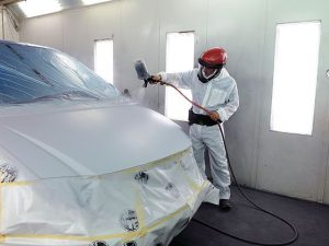 Master Fire Auto Body Spray Paint Booth Fire Protection NYC